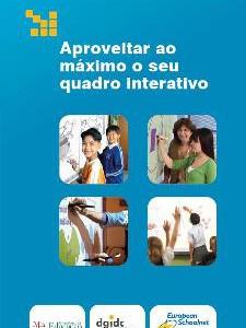 """Edição portuguesa do manual """"Aproveitar ao máximo o seu Quadro Interativo"""""""
